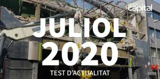 Què va passar al juliol 2020 al Baix Empordà? Posa't a prova amb el test de les notícies més importants de Ràdio Capital de l'Empordà
