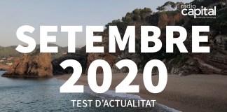Què va passar al setembre 2020 al Baix Empordà? Posa't a prova amb el test de les notícies més importants de Ràdio Capital de l'Empordà
