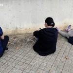Tres dels cinc detinguts pels Mossos d'Esquadra per robar joies a gent gran a Calonge | Imatge dels Mossos