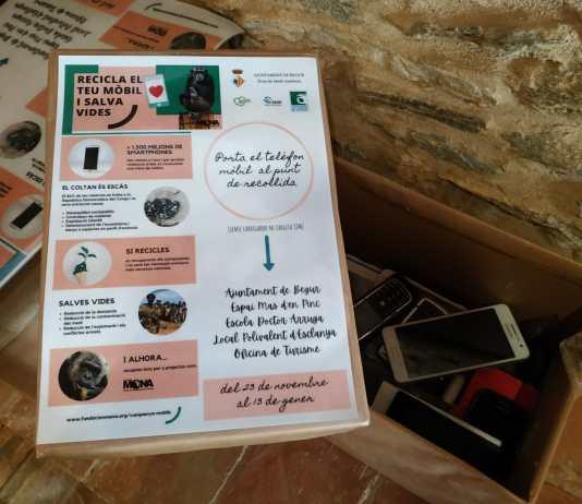 """privat:-la-campanya-""""recicla-el-teu-mobil-i-salva-vides""""-recull-mes-d'una-cinquantena-de-dispositius-mobils-al-municipi"""