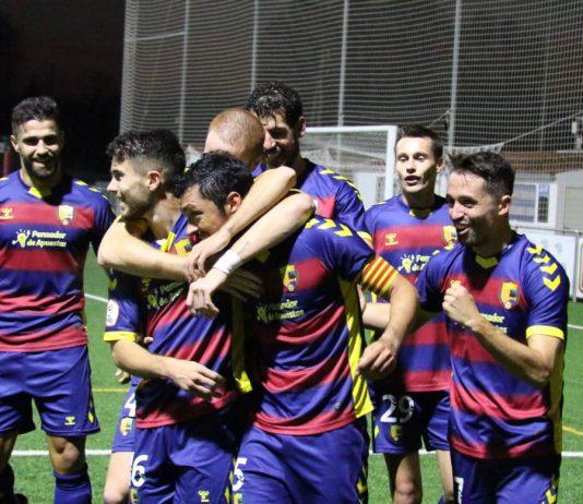 La Unió Esportiva Llagostera en una imatge d'arxiu
