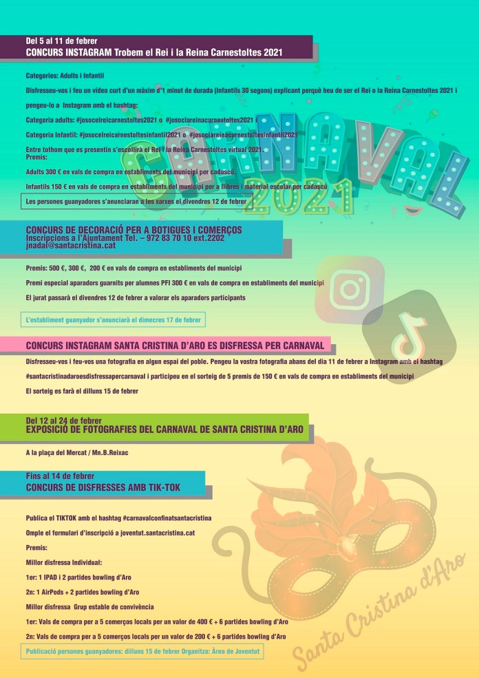 cartell carnaval Santa Cristina dAro 2021 opt baixa 2