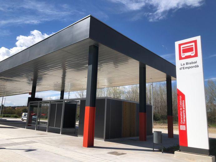 Nova estació d'autobusos La Bisbal
