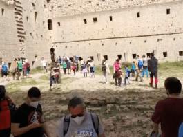 Castell de Montgrí Setmana Santa vídeo