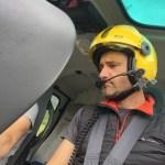Xavier Saltor pilot helicòpter bomber