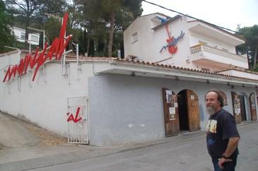 Llorenç Massaguer, propietari del bar i sala de concerts Mariscal de l'Estartit, 2014. // Ajuntament de Girona. CRDI (Fons El Punt Avui – Xavier Castillón Plana)