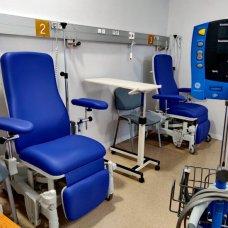 Els nous espais de l'hospital de dia quirúrgic a l'hospital de Palamós. Imatge cedida aquest 15 de setembre del 2021 (Horitzontal)