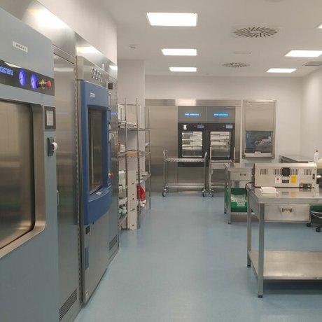 La nova unitat d'esterilització vertical de l'hospital de Palamós. Imatge cedida aquest 15 de setembre del 2021 (Horitzontal)