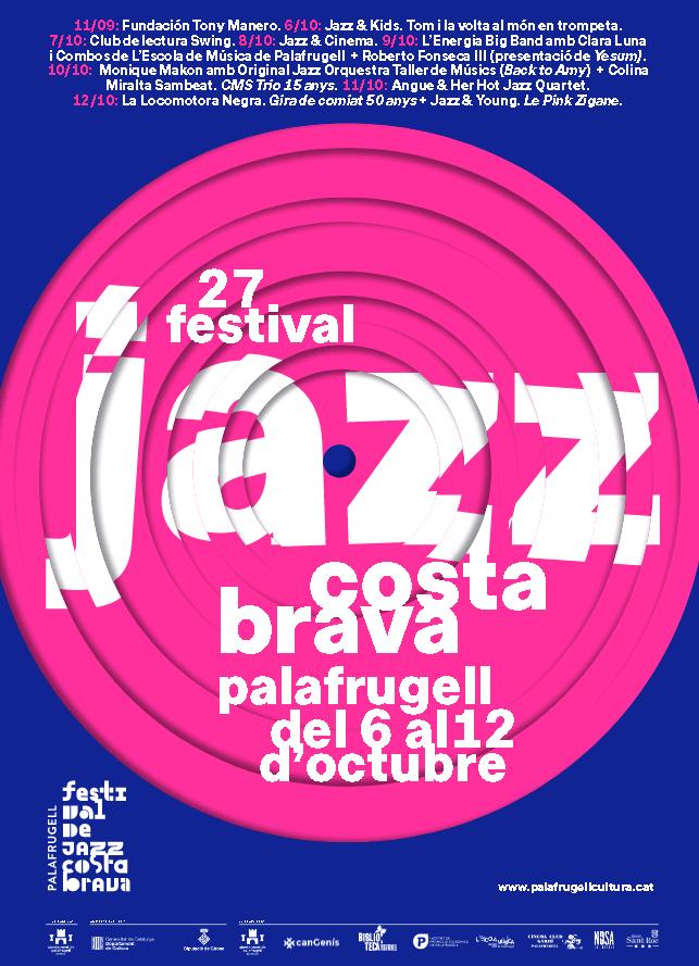 27a edició Festival de jazz Costa Brava, àrea Cultura, Palafrugell