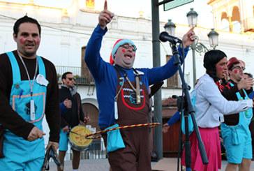 Las agrupaciones carnavaleras, protagonistas de la 'Chochá'