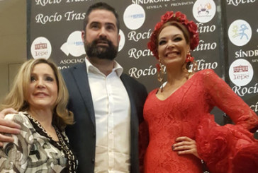 Cartaya arropa a Rocío Trastallino en la presentación de su colección en Sevilla