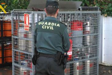 Nueva detención de la Guardia Civil en Cartaya por el robo de bombonas de butano