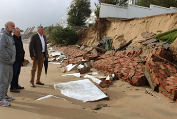 El Ayuntamiento de Cartaya valora los daños del temporal y prepara un informe para trasladarlo al Ministerio de Medio Ambiente