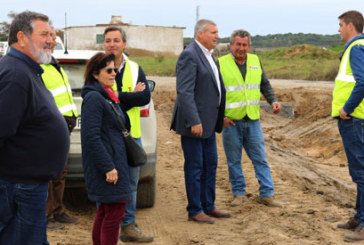 A punto de concluir la primera fase del Plan Integral de Reparación de los Caminos Rurales