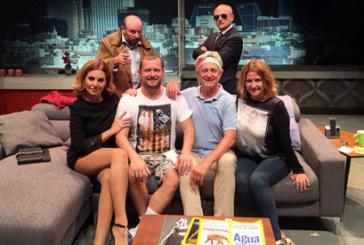 Josema Yuste, El Monaguillo y Santiago Urrialde presentan en Cartaya este sábado la comedia 'Taxi'