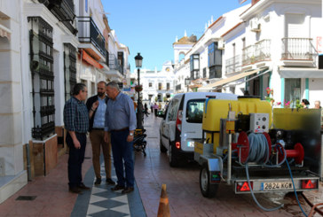 La Plaza Larga de Cartaya estrena imagen tras la remodelación