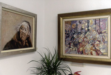Reportaje | Antonio Solórzano expone sus pinturas en la Oficina de Turismo en El Rompido