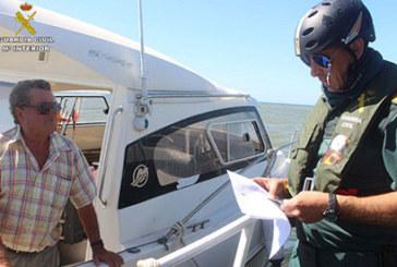 """La Guardia Civil pide la colaboración de los propietarios de embarcaciones de recreo para garantizar """"una navegación segura y sin accidentes"""""""
