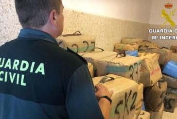 Ayamonte | La Guardia Civil ha intervenido 94 fardos de hachís