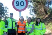 La DGT pone en vigor la reducción de  la velocidad a 90 Km/h en carreteras  convencionales en el marco de la Estrategia Seguridad Vial 2011-2020
