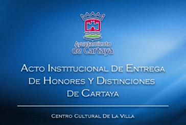 Acto de entrega de Honores y Distinciones de Cartaya 2019