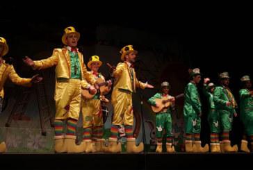 Las agrupaciones locales, protagonistas del primer fin de semana de Carnaval en Cartaya