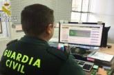 Minas de Riotinto | La Guardia Civil detiene a un varón tras robar en tres viviendas