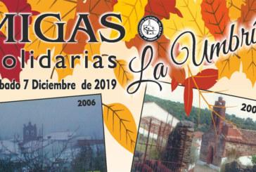 Los amantes de la gastronomía podrán disfrutar de las XX Migas Solidarias de La Umbría