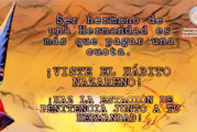¡Viste el Hábito Nazareno!