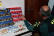 Palos de la Fronteras   La Guardia Civil interviene 235 cajetillas de tabaco de contrabando