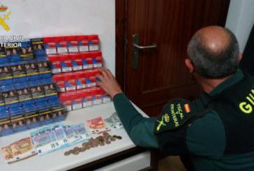 Palos de la Fronteras | La Guardia Civil interviene 235 cajetillas de tabaco de contrabando