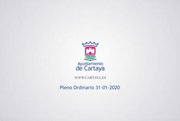 Cartaya Tv | Pleno Ordinario del Ayuntamiento de Cartaya (31-01-2020)
