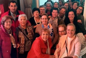 El Centro de Participación Activa de Cartaya celebro el Día de Andalucía con una merienda