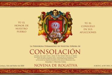 La Hdad. de Ntra. Sra. de Consolación de Cartaya inicia una Novena de Rogativa a través de las redes sociales