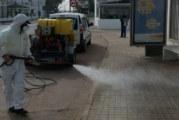Cartaya intensifica la desinfección de la vía pública y los espacios públicos para luchar contra el coronavirus