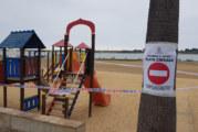 El Ayuntamiento Cartaya cierra las playas y parques de la localidad