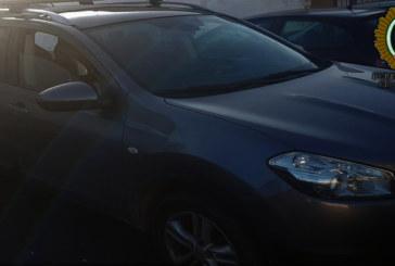 La Policía Local recupera un nuevo vehículo sustraído en Jerez y detiene al presunto autor del robo