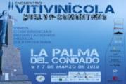 El II Encuentro Vitivinícola de La Palma del Condado reunirá veintiuna bodegas de todo el país