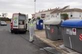 Cartaya intensifica las medidas de limpieza y desinfección en el servicio de recogida de basuras