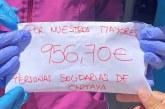 Un grupo de amigas recaudan 956,70 euros para el Centro Mayores y Dependientes Cartaya