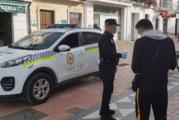 La Policía Local de Cartaya interpone 33 denuncias por no llevar mascarilla y 36 por botellones