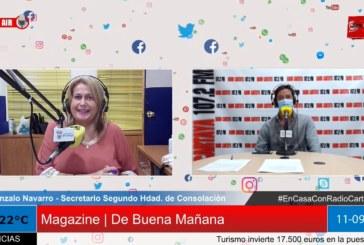 Radio Cartaya | La Hdad. de Consolación estrena nuevo simpecado