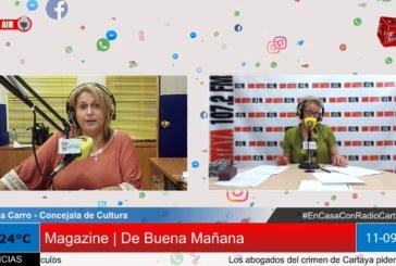 Radio Cartaya | Hablamos de cultura con Lola Carro, Concejala de Cultura
