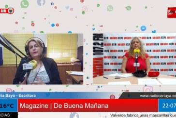 Radio Cartaya | Nuria Bayo presenta su primer libro en el Centro Cultural de la Villa