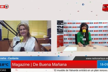 Radio Cartaya | Ateneha presenta su nuevo single 'No me haces falta'