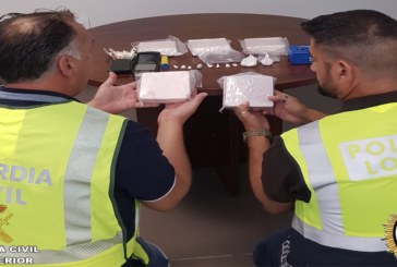Bollullos Par del Condado  | La Guardia Civil en colaboración  con la Policía Local interviene una gran cantidad de cocaína