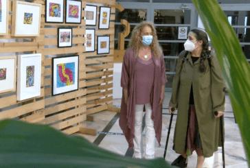 Cartaya Tv | Carmen Bayo expone sus pinturas en el Centro Cultural de la Villa