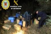 Lepe | La Guardia Civil interviene una gran cantidad de fardos de hachís en una finca en la localidad