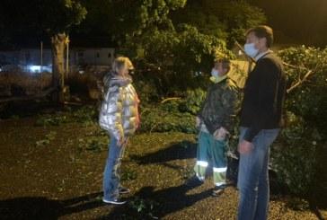 El Ayuntamiento de Cartaya se vuelca en la intención de reparar los daños ocasionados por el temporal