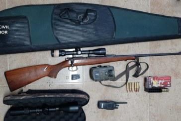 Paterna del Campo | La Guardia Civil detiene a dos personas por cazar de manera ilegal en un coto de caza de la localidad